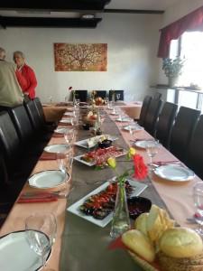 Geburtstagsparty mit bunter Vorspeisenauswahl & klassischem Hauptgang