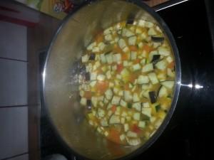 hier wir unser Couscous vorbereitet