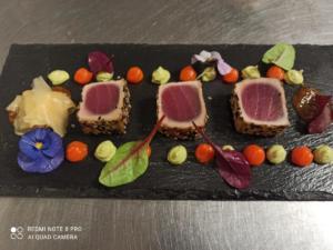 Sashimi vom Tunfisch