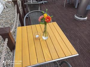 ein Platz für 2 auf unserer Terrasse